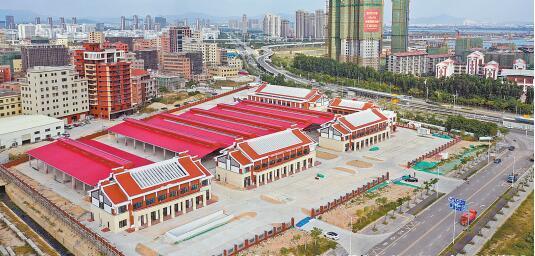 """总建筑面积近1.8万平方米 同安新城新增""""高大上""""农贸市场"""