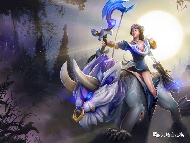 月之女祭司:3费【精灵】【猎人】,简称:米拉娜,月女,白虎,pom