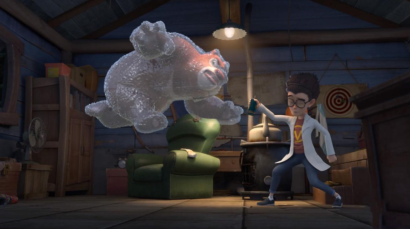 当熊出没主角变成小冰人,熊大表情尴尬,天才威和大马猴结局悲惨图片