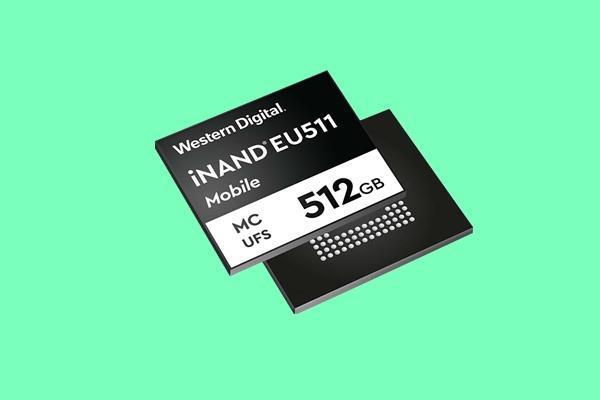西数发布iNAND EU511闪存芯片:UFS 3.0、写入达