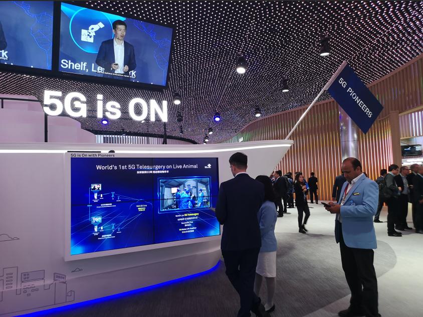 WMC 2019 5G手机面面观:华为与高通芯片战持续升级