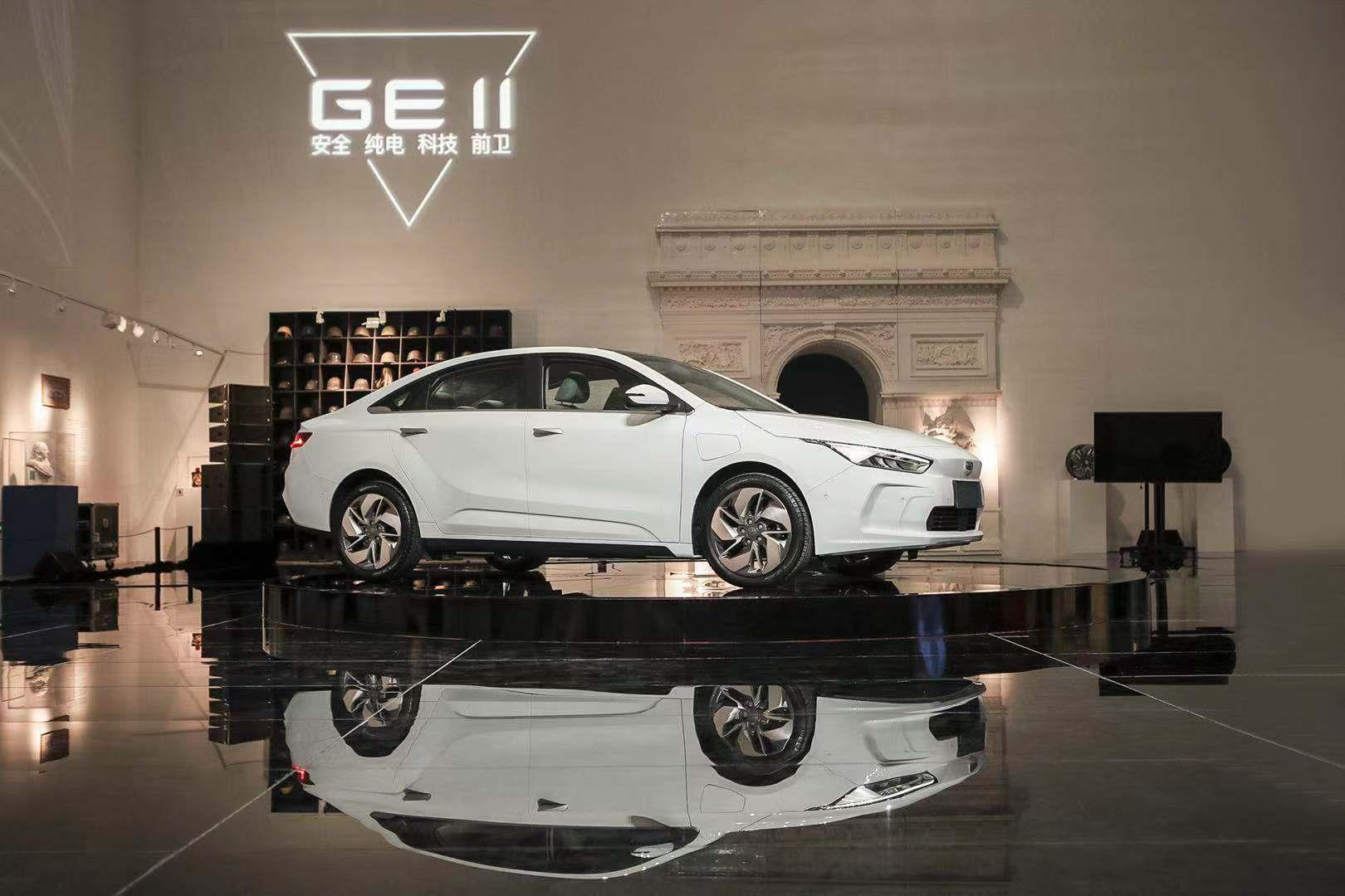 吉利新能源品牌成立,首款GE11车型曝光,基准特斯拉Model 3 |钛新闻