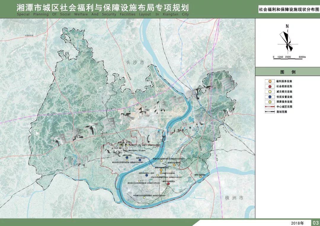 湘潭岳塘片区规划图