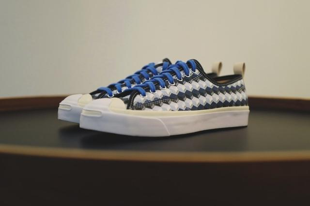 differently 571c0 080a6 近赏Converse x DOE 联名Jack Purcell 鞋款