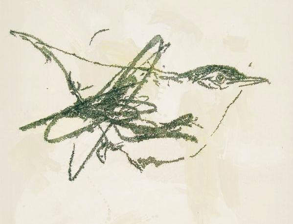 叶永青作品被指抄袭30年,抄袭作售价远高于原作,本人拒绝回应图片