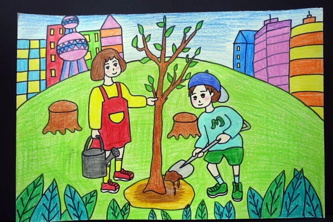 保护环境,爱绿护绿绘画大赛获奖名单新鲜出炉,快来看看你入围了么?