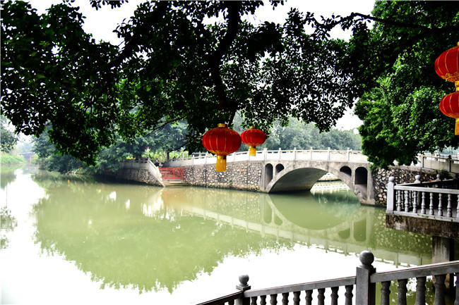 佛山有个生态园代表了岭南水乡的春景,就在南庄罗南