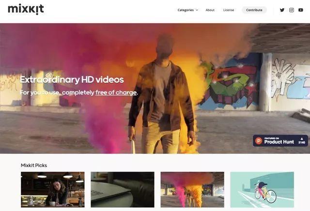 Mixkit – 高质量视频和动画的精选