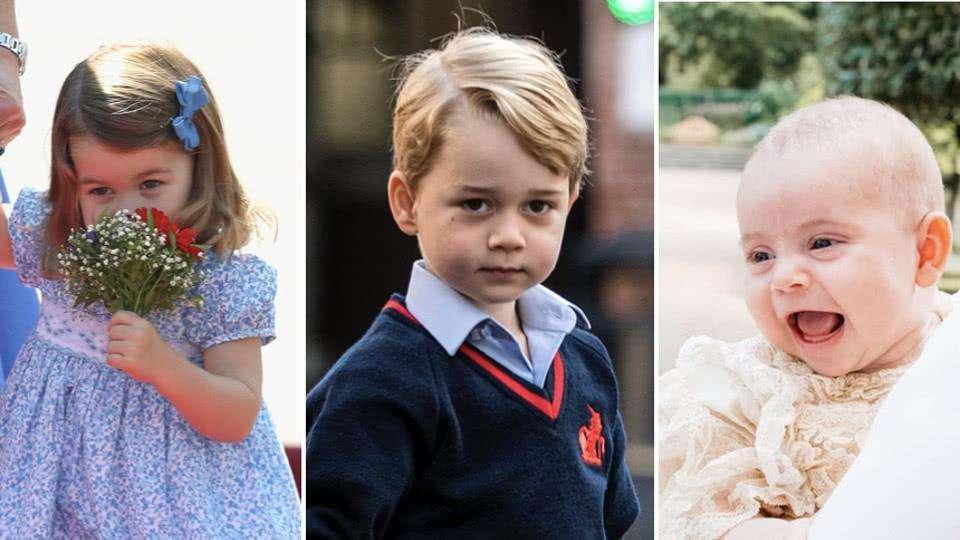 """同样8个月大,路易王子是""""官方笑"""",哥哥乔治王子是""""嫌弃脸"""""""