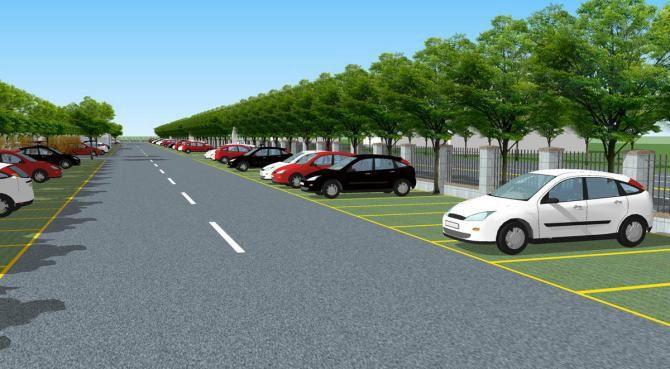 生态型停车场的设计原理与施工秘笈 (图1)