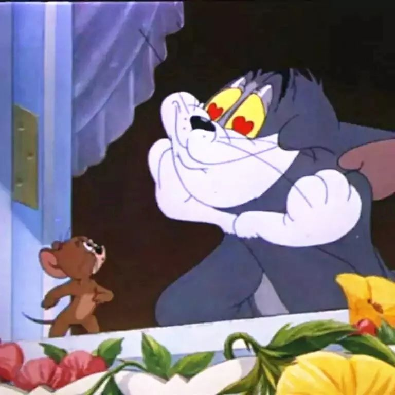 猫和老鼠情侣头像