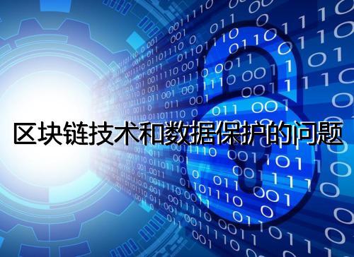 区块链技术和数据保护的问题