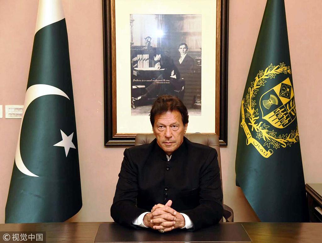 巴基斯坦总理宣布将释放被俘印度飞行员