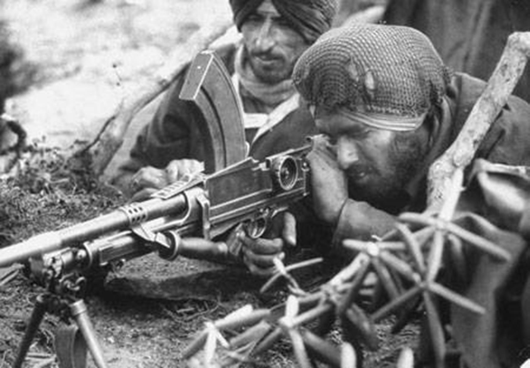 印度士兵动漫图片