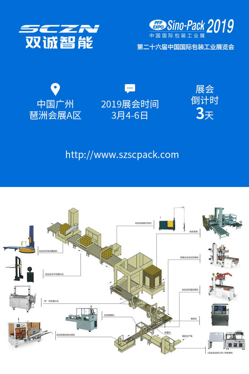 6日,双诚智能与您相约中国国际包装工业展!