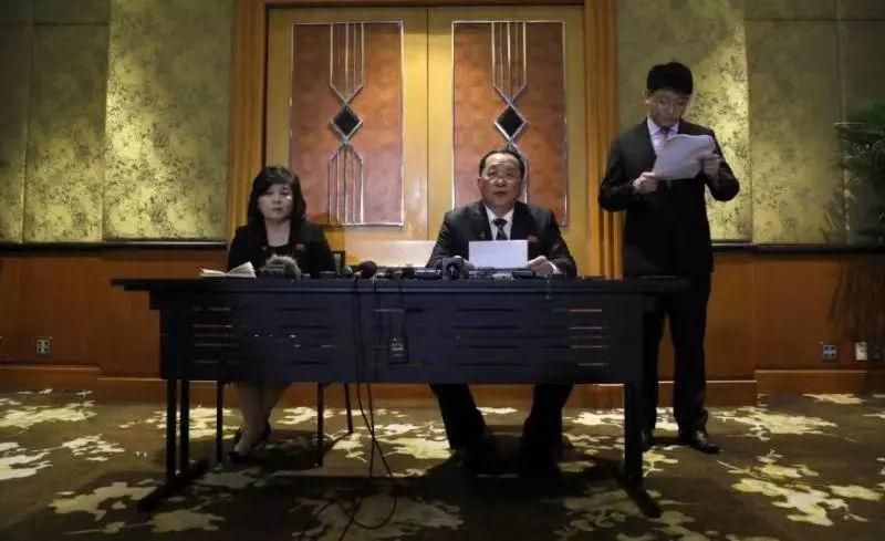 朝鲜罕见召开记者会反驳美方,称金正恩一度失去谈判意愿_李勇浩