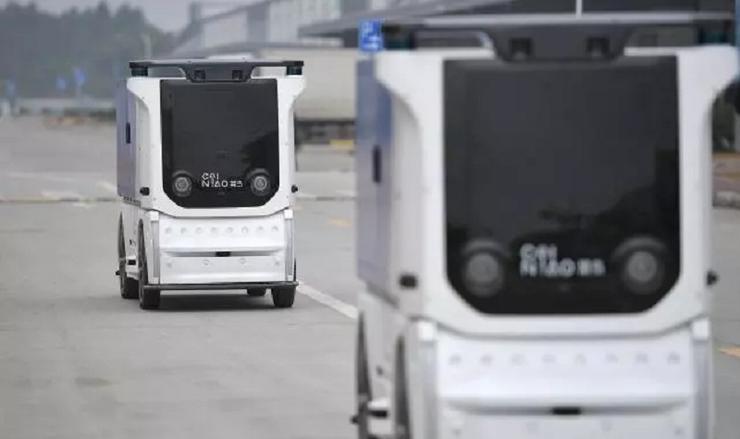 菜鸟成都无人车未来园区正式启动,成为国内首个无人车未来园区