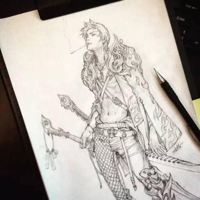 动漫人物速写怎么画?这样练习绝对有效果!
