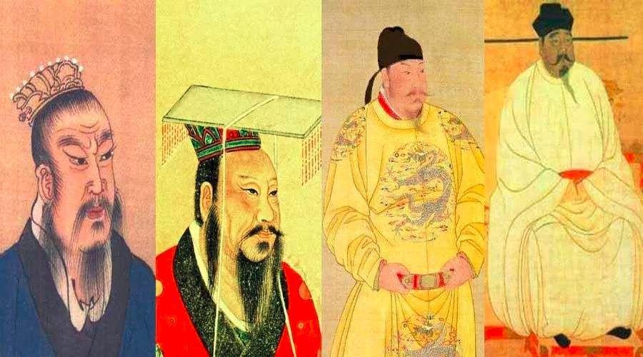 """如果將歷史上422位皇帝都拉到一個微信群,他們會聊點啥?_秦始皇"""""""