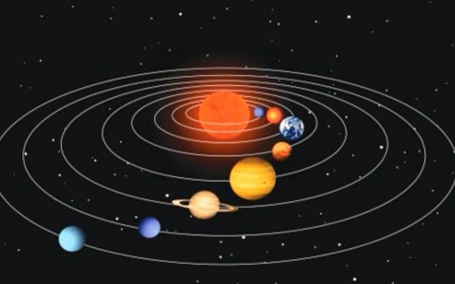 为什么我们看到的太阳系图片的天体比例基本都是严重失实的
