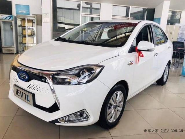 江淮iEV7的扩展版电池续航时间提高了52%