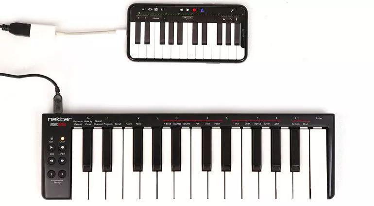 全球拼低价!Nektar SE系列midi键盘才69美元,力匹大牌