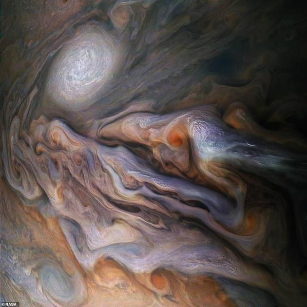 朱诺号探测器拍摄的木星美得像油画,背后隐藏的却是另一种世界