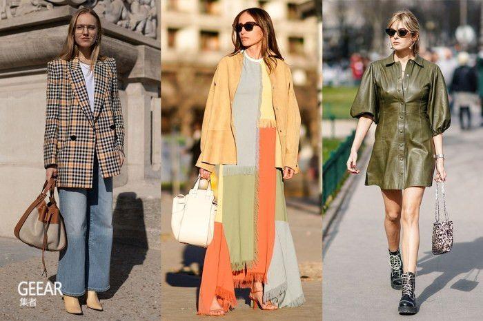 穿出巴黎风格的秘诀,街拍女生的优雅、低调配色就是关键