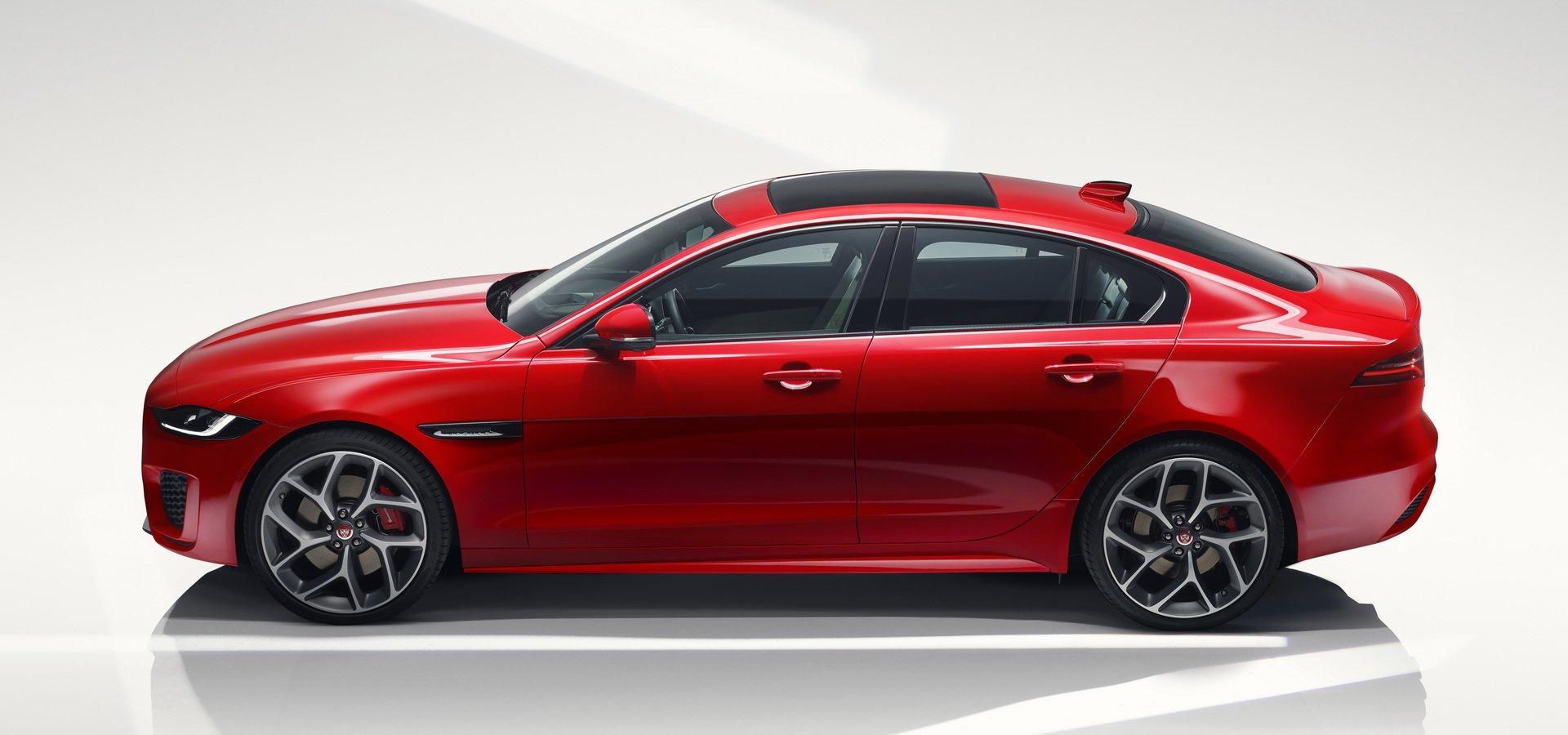 捷豹Jaguar XE更新 一如既往的流线豹