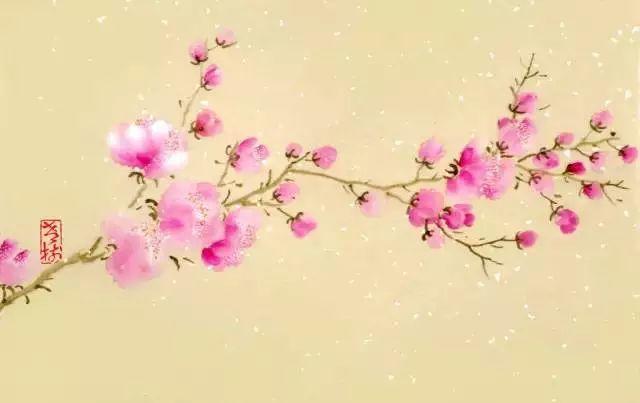 一画一诗一境界,春天里的人生感悟