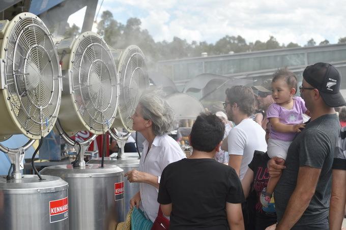 澳大利亚南部热浪来袭,专家建议用热成像观察室外后再决定是否出