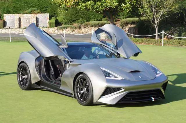 价值6600万元的顶级超跑!钛合金制成,世界上只有一辆车