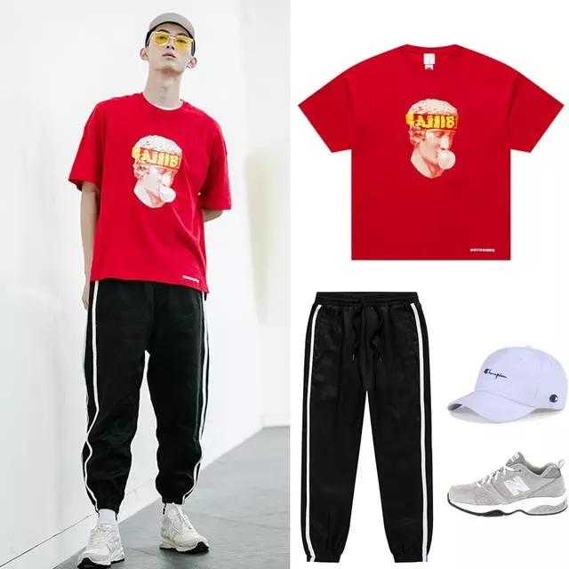 男生T恤怎么搭配更加好看?请看大尚国际的小诀窍