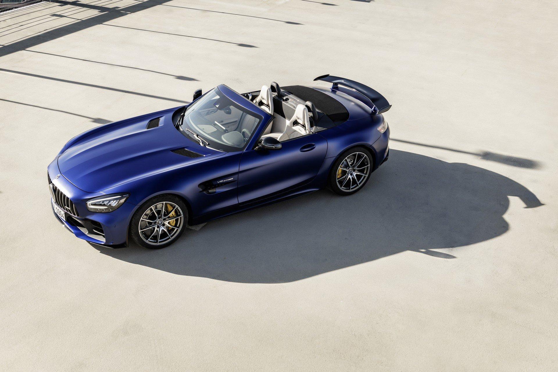 奔驰Mercedes-AMG GT R Roadster豪华跑车敞篷版