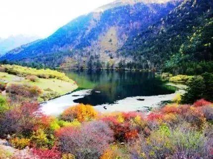 康定木格措风景区