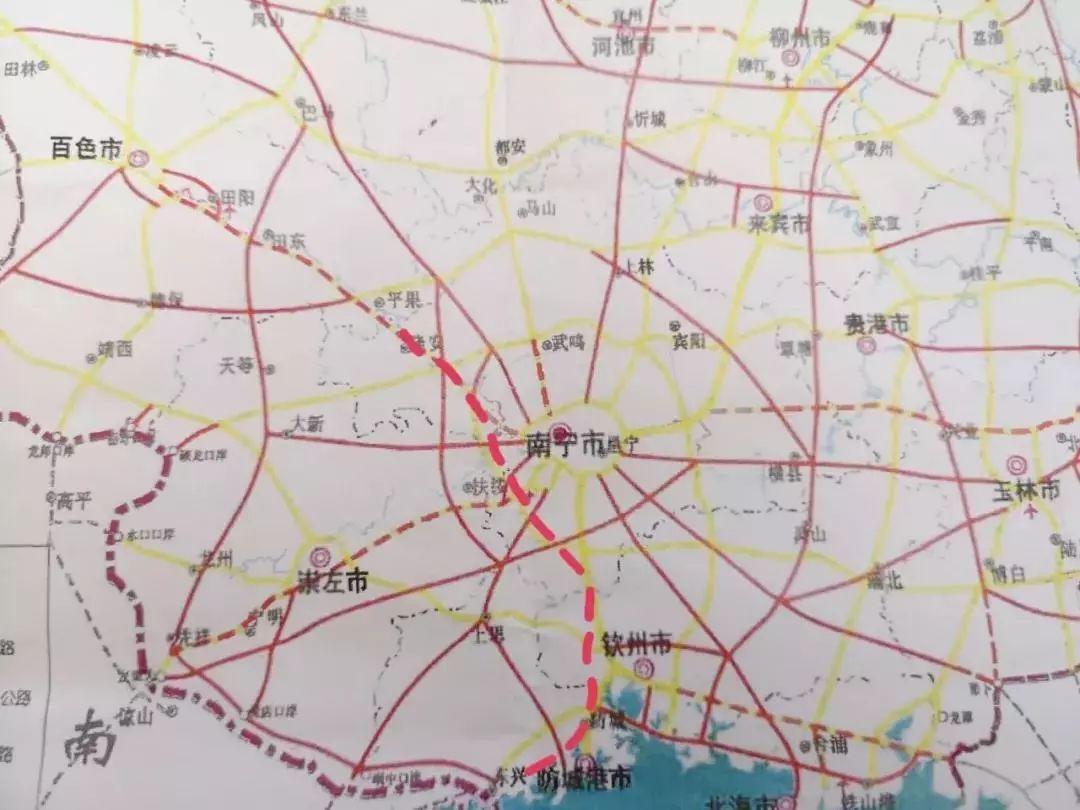 隆安县城市规划图