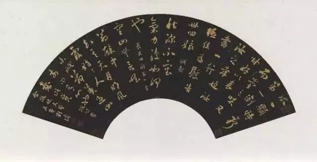 """他是清代著名的帖学大家,被世人称为""""浓墨宰相""""。(图9)"""