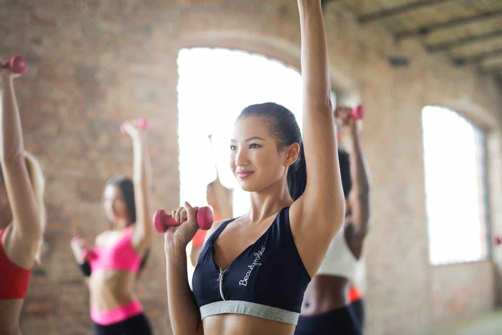 辅助运动减肥图片