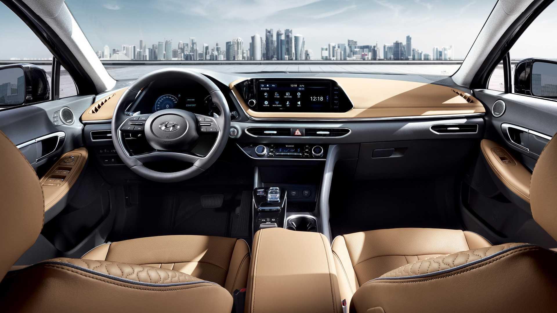 2020款现代索纳塔公布,纽约车展将亮相