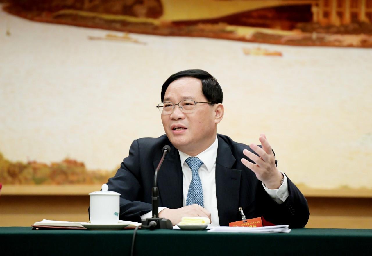上海市委书记李强会见