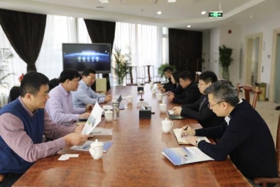 齐鲁水务副总经理一行赴北京开源投资总部合作洽谈