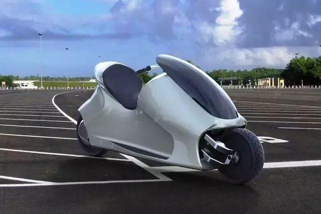 摩托车将采用自平衡技术 小短腿够不着地也能骑