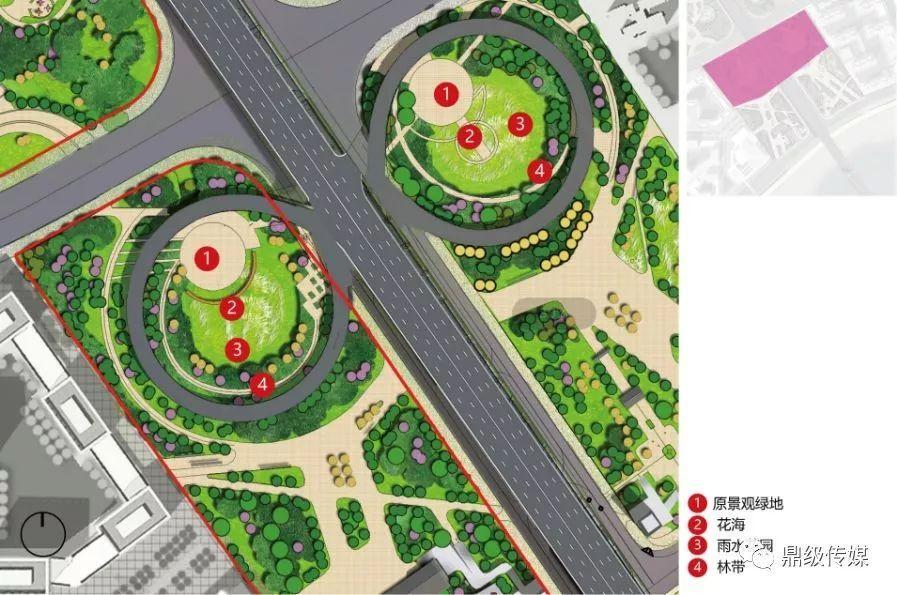 花海景区规划平面图