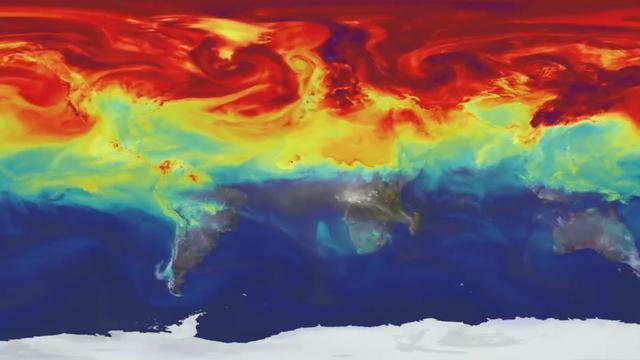 人类去年的温室气体排放量达最高水平 预计二氧化碳水平将创下新纪录