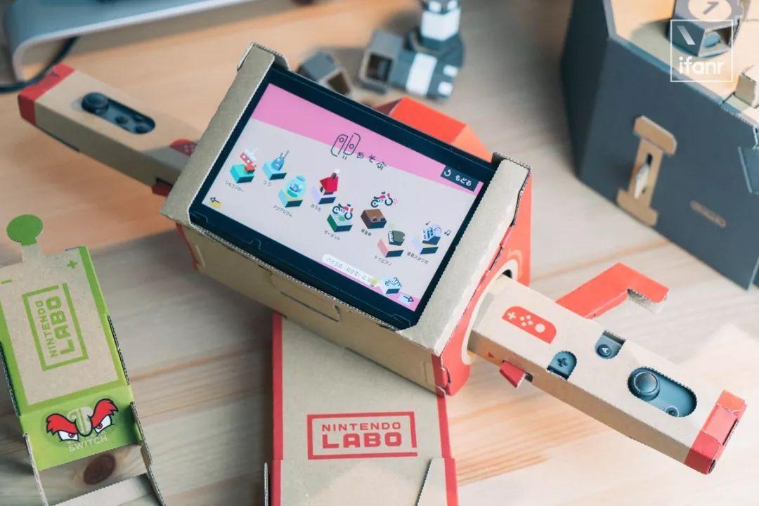 继任天堂发布一堆配合Switch玩的纸盒子后,Ni
