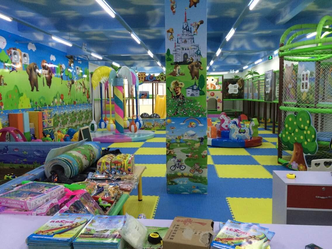 100平米的儿童游乐场需要多少钱?