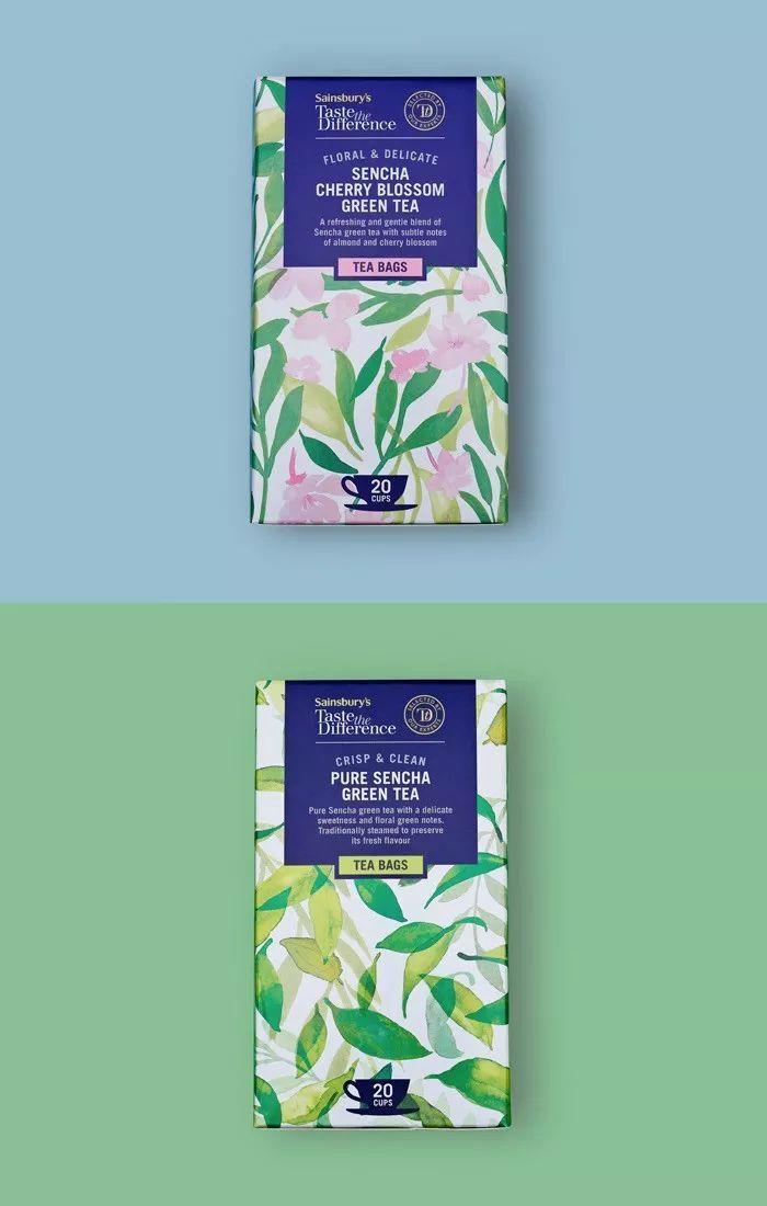 茶、茶包、花茶包装设计