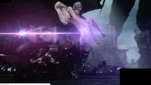《鬼泣5》PS4版现圣光 一*丝不挂的翠西翘臀被遮挡_臀部 游戏电竞 第2张