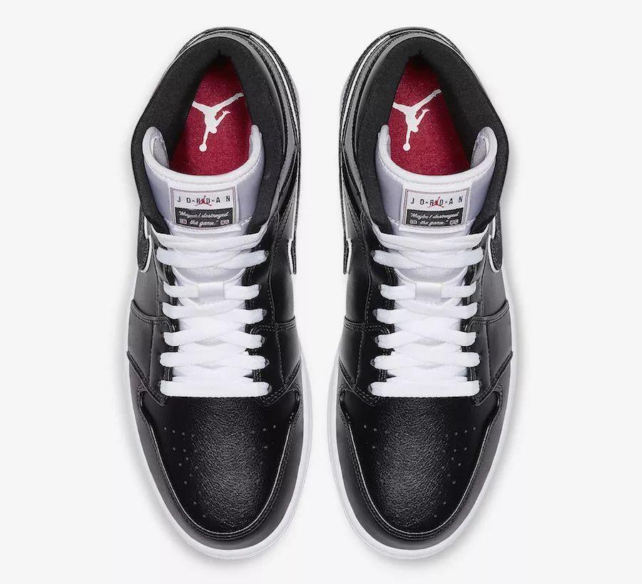 致敬乔丹名言!这双全新 Air Jordan 1 Mid 真的不简