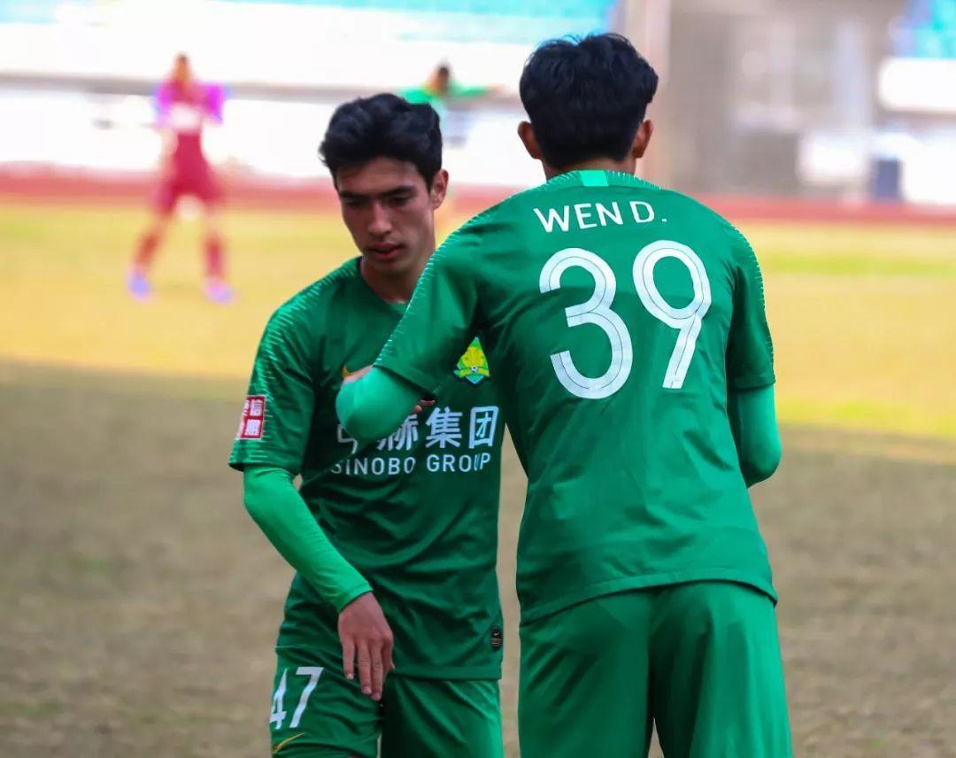 预备队战报 马昆越预备队首秀 中赫国安0-0重庆斯威